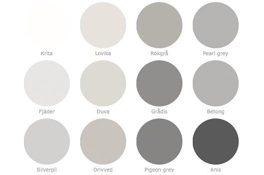 Snygg grå väggfärg